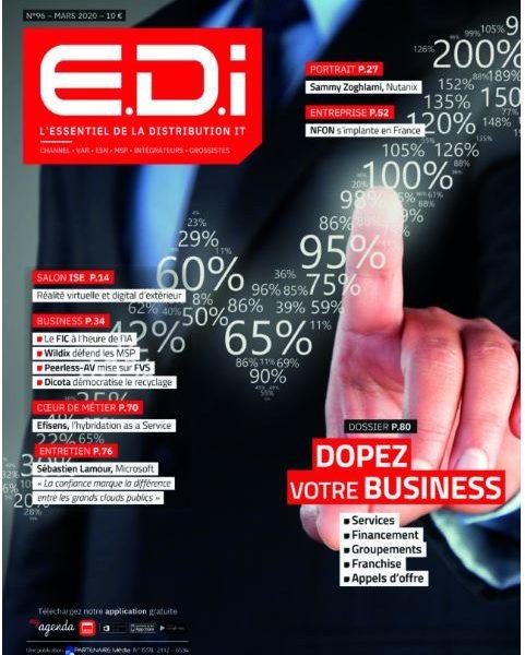 Magazine EDI numéro 96: interview de notre présidente